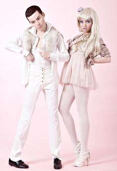 bangstyle.com art  Barbie And Ken Become Living Dolls