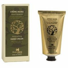 Panier Des Sens Nourishing Hand Cream with Organic Olive Oil by Panier Des Sens. $14.95. Made in France, Provence. Not tested on Animals. Paraben Free. Olive Oil. Rich in nourishing and antioxidant organic olive oil from Provence, this hand balm works into the skin quickly and thoroughly. It provides day after day comfort and helps heal dry and chapped hands. Apply as often as needed to have long lasting softness. Aluminum tube