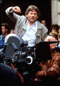 """Roman Polanski  Roman Polanski shoots on the streets of his birthplace, Paris, France, for his mystery thriller, """"Frantic,"""" starring Harrison Ford, in 1988.  http://www.latimes.com/entertainment/movies/moviesnow/lat-cindy-holly_mad7mypd20120914175301-photo.html"""