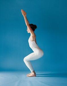 How to do and benefits of Utkatasana (chair yoga)  #yoga #fitness  http://yogisurprise.com/pinterest