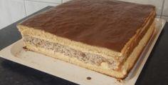 recept_na_rezy Sweets Cake, Vanilla Cake, Tiramisu, Naan, Banana Bread, Deserts, Food And Drink, Ethnic Recipes, Cakes