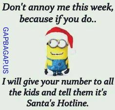 Gap Ba Gap: Funny Minion Joke About Santa ft. #Christmas