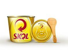 Skol lança sorvete de cerveja: http://ale.pt/V4y9t0