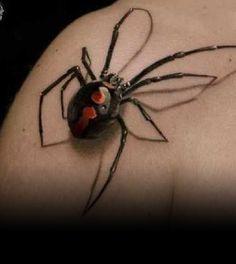 Spider, Tattoo, Idea, Insect, Spinne, Tätowierung