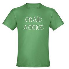 "In Irish, craic is a word that loosely translates to ""have fun"".  Craic is pronounced ""crack"", so this tshirt is 'dublin' the fun, it's a pun and a joke wrapped up in green!  #CPirishluck"