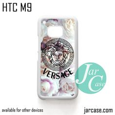 Versace Flower Arrt Phone Case for HTC One M9 case and other HTC Devices