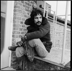 English singer songwriter and musician Cat Stevens later Yusuf Islam in London 29th October 1970