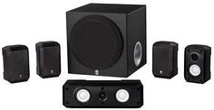 Home Yamaha Theater Speaker System Mountable Surround Sound Audio Quality