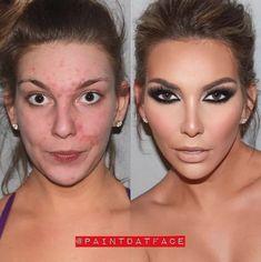 25 Dazzling Photos That Show the True Power of Makeup Makeup Geek, Makeup Tips, Beauty Makeup, Hair Makeup, Hair Beauty, Photo Makeup, Love Makeup, Makeup Looks, Beauty Makeover