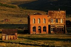 I love ghost towns - Bodie State Historic Park in California
