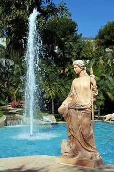 Jardin botanique Molino de Inca à Torremolinos, Malaga - Costa del Sol (Espagne) http://www.actuweek.com/go/amazon-espagne.php