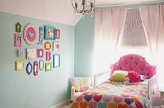 26 Creative Toddler Girl Bedroom Ideas For Small Rooms: Colorful Toddler Girl Room Decorating For Small Bedroom Ideas ~ OHomeDesign Kids Room Inspiration Teenager Zimmer Design, Girls Bedroom, Bedroom Decor, Bedroom Ideas, Bedroom Furniture, Master Bedroom, Bedroom Wall, Funky Bedroom, Bedroom Designs