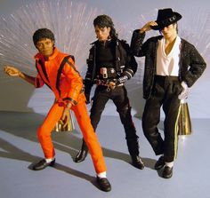 Michael Jackson Figure, Michael Jackson Pics, Michael Jackson Merchandise, African American Dolls, Guys And Dolls, King Of Music, The Jacksons, Black Barbie, Barbie Friends