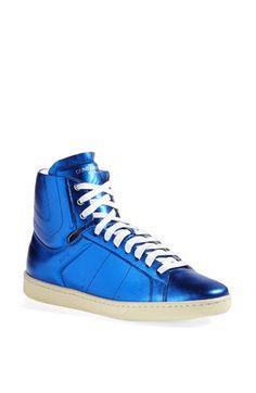 Saint Laurent 'Classic Court' High Top Sneaker