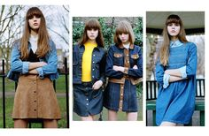 Topshop Denim Dreamer 2015: The cool-girl look with 60's and 70's vibe