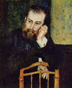 Auguste Renoir - Portrait d'Alfred Sisley