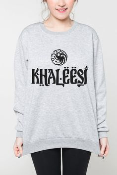Khaleesi game of thrones shirt sweater by OnemoreToddler on Etsy