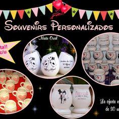 Souvenirs personalizados, mates, tazas - Aldea