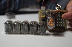Nixie Tubes IN-12 IN-12A IN 12 6 pcs by RadioTec on Etsy