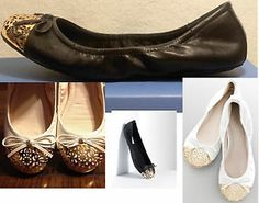 Simply vera vera wang ballet flats women fashion gold round toe shoes RET$60 in white
