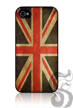 iPhone 4 4S Slim Hard Case - British Flag