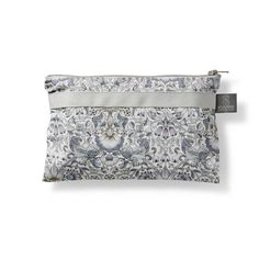 Small blue grey Lodden pattern purse for the little bits & pieces - see our store for matching products such as toiletry bags, changing mats & more. All organic materials