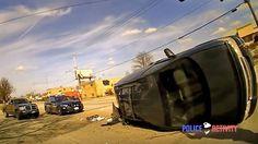 Dashcam Footage Captures Minivan Dragging Ohio Cop During Traffic Stop // The Drive