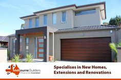 Want to have the services of a builder that gives perfect value your money? is the right choice for you. They specialises in new homes, renovations and extensions. So whatever are your needs just get in contact with them. Melbourne House, Home Builders, Custom Homes, Extensions, New Homes, Money, Outdoor Decor, Home Decor, Decoration Home
