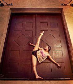 Dancer in the doorway by Brittan McGinnis http://brittanmcginnis.com