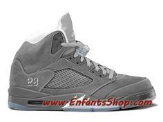 9f8de4f1d6376c Air Jordan 5 Retro Chaussures Jordan Officiel Pas Cher Pour Homme Wolf Grey  136027-005