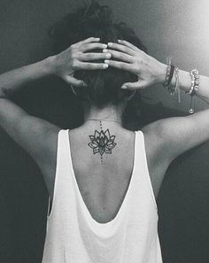 ~Beautiful lotus tattoo~