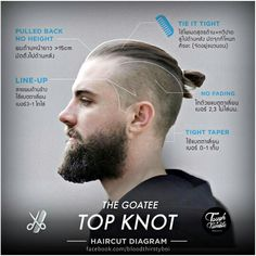 The Goatee TOP KNOT