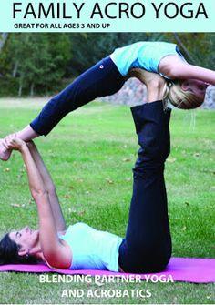 Family Yoga DVDs #yoga #yogakids #acroyoga