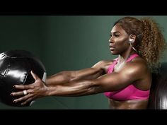 Serena Williams' Workout Will Inspire You to Get Off Your Sorry Butt