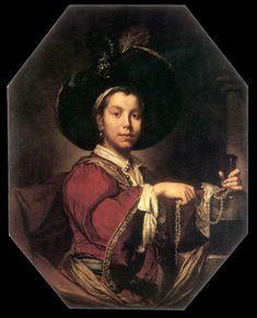 GHISLANDI, Giuseppe Portrait of a Young Man 1715-20
