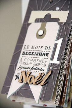 Magali vous propose aujourd'hui son astuce spécial Noël   Aujourd'hui pour l'astuce de ce lundi, je vous propose de combiner calendrier de l'avent et December Da…
