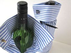 Shirt Sleeve Wine Bottle Bags
