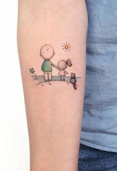 Most Creative Small Tattoos That Will Blow Your Mind kreativste kleine Tattoos, die Sie um Mommy Tattoos, Mutterschaft Tattoos, Tattoo Mama, Family Tattoos, Body Art Tattoos, Tattos, Wrist Tattoos For Guys, Arm Tattoos For Women, Cool Small Tattoos