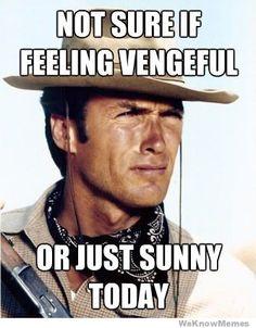 Ah, Clint Eastwood.