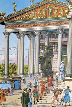 Rome - Itinéraires avec Alix Thérèse de Chérisey, Jacques Martin, Gilles Chaillet, Enrico Sallustio
