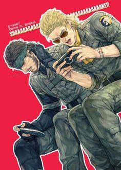 Metal Gear Solid: Snake & McDonell Miller