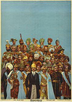 Portrait of Maharajas