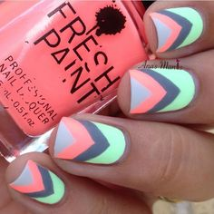 34 Cute Nail Designs For A Colorful Spring