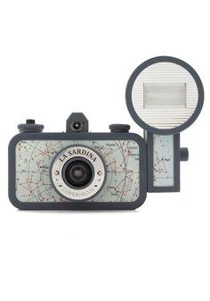 La Sardina Lomography Camera in Copernicus - Blue, Vintage Inspired, Travel
