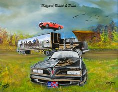 Dukes of Hazzard and Smokey and the Bandit James Best, Dukes Of Hazard, Smokey And The Bandit, Truck Coloring Pages, Southern Pride, Southern Style, Counting Cars, Star Wars, Garage Art