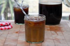 Cold Brew Coffee | Jamie Oliver. Can be made with various flavored as well (like orange zest).