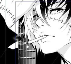 Young black jack discovered by CerberusCore on We Heart It Arte Emo, Arte Indie, Black Jack Anime, Jack Black, Manga Boy, Manga Anime, Anime Art, Caste Heaven, Arte Grunge