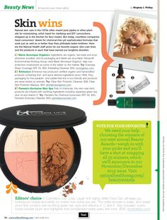 Natural Health Mags Features Everyday Sheer Coverage