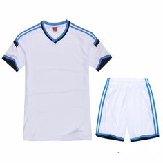New arrival mens boy football jerseys paintless blank soccer full set  costumes suits training sports wears clothes costumes e0fe9c800