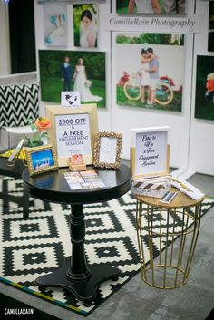 { My first bridal show}South Florida Bridal Expo hosted by Jenks ProductionsFebruary 15th in West Palm Beach, Florida.This year I finally made the jump and did a wedding expo. My favorite part of the experience was planning my booth using Photoshopand then taking my idea/psd file ;) and…